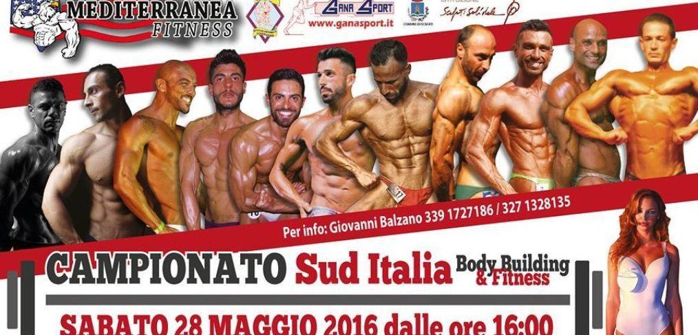 Body Building Scafati 28 Maggio Campionato Sud Italia