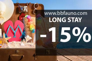 LONG STAY -15%